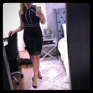 Neiman Marcus sweater black dress